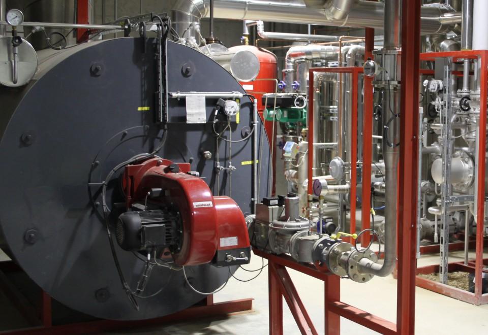 Biogas befeuerter Erhitzer - biogas-fired heater