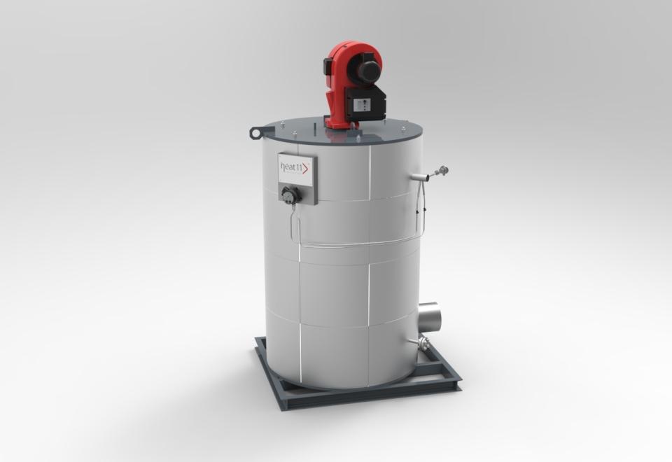 heat 11 Befeuerte Erhitzer (Thermoöl-Kessel), vertikale Ausführung – Fired heaters / thermo oil boilers, vertical design