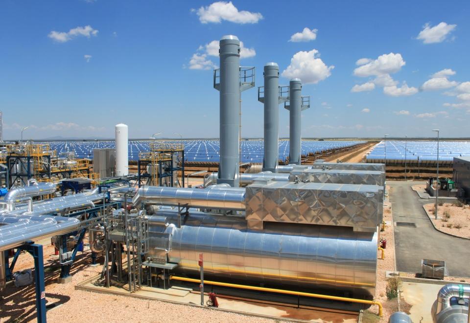 Thermisches Solarkraftwerk