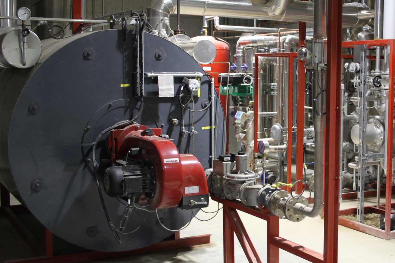 Wärmeträgeranlagen non heat 11. Heat transfer plants.