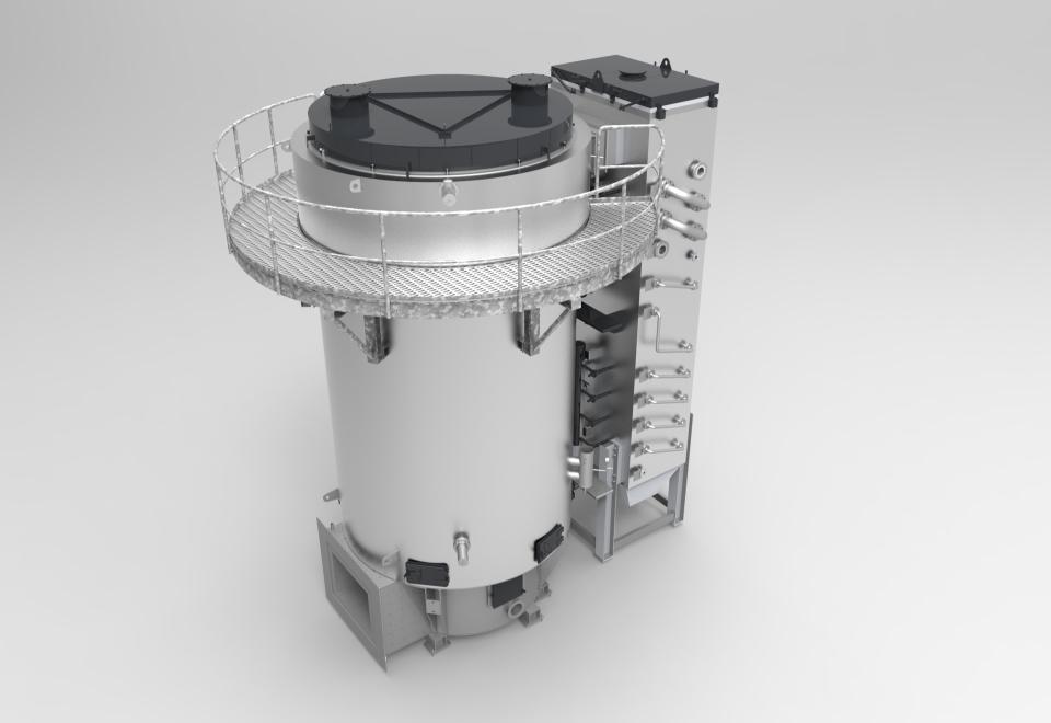 Thermoöl-Abhitzekessel zur Wärmerückgewinnung. Thermal oil waste heat boilers – Waste heat recovery