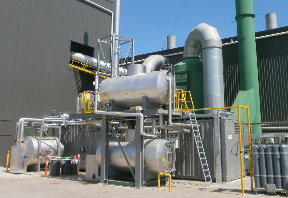 Decontamination plant