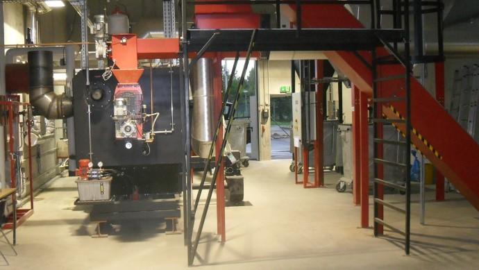 Feststoff befeuerter Erhitzer und Biogas befeuerter Erhitzer - Biomass fired heater and biogas-fired heater by heat 11