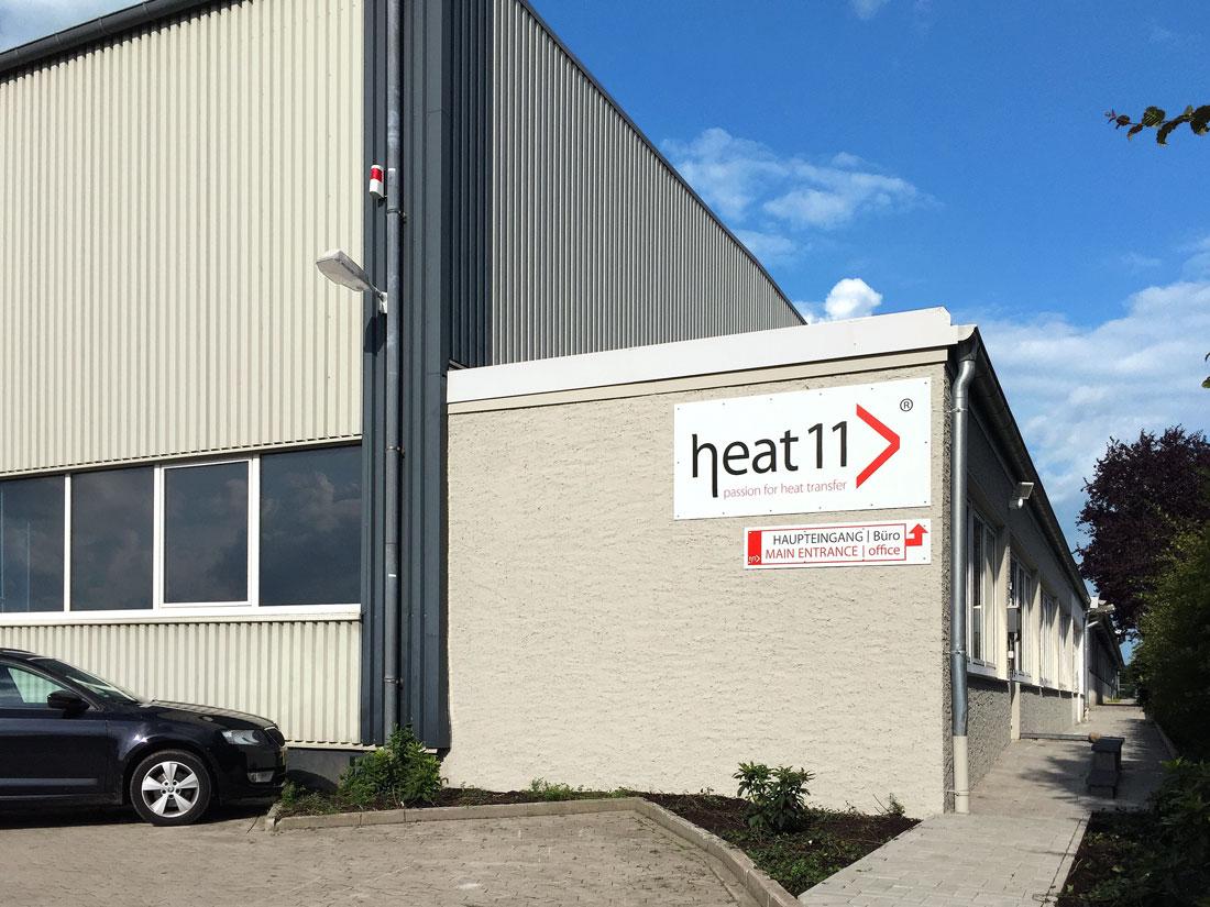 heat 11 Fertigung. Quality manufacture.