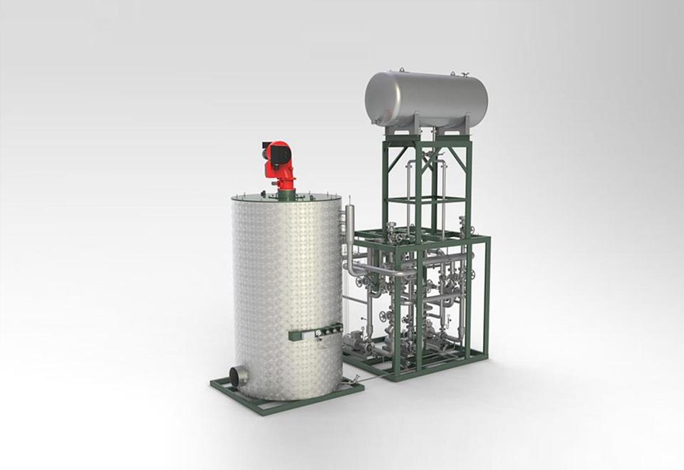 Biomasse-Feuerung