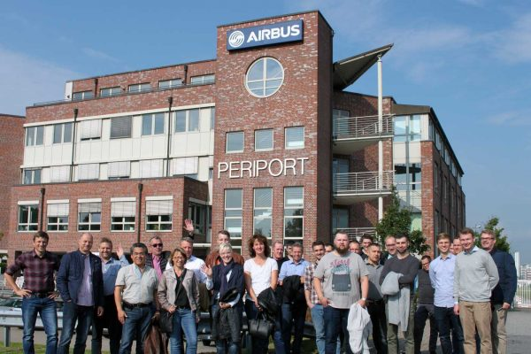 heat 11 TeamTour 2017. Besuch bei Airbus. Passion for passenger transfer.