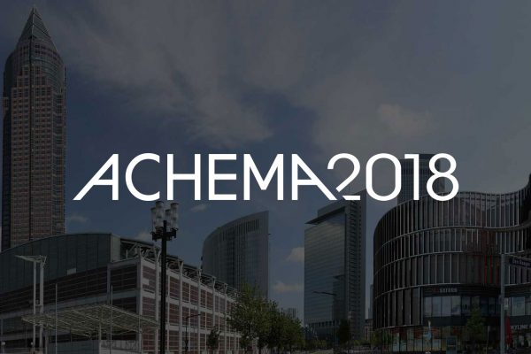 ACHEMA 2018 in Frankfurt – meet the heat