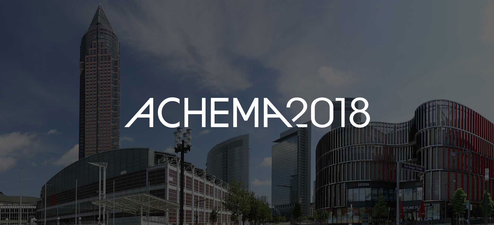 ACHEMA 2018 in Frankfurt