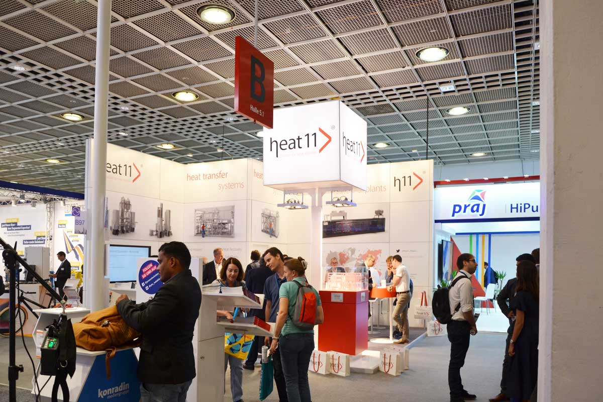Achema 2018 heat 11 Messe Review_01 > heat 11 | passion for