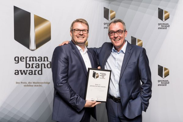 heat 11 wins German Brand Award 2018