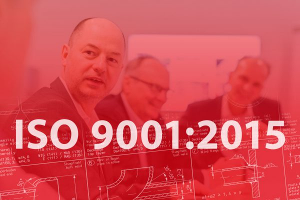 ISO 9001:2015 successfully completed