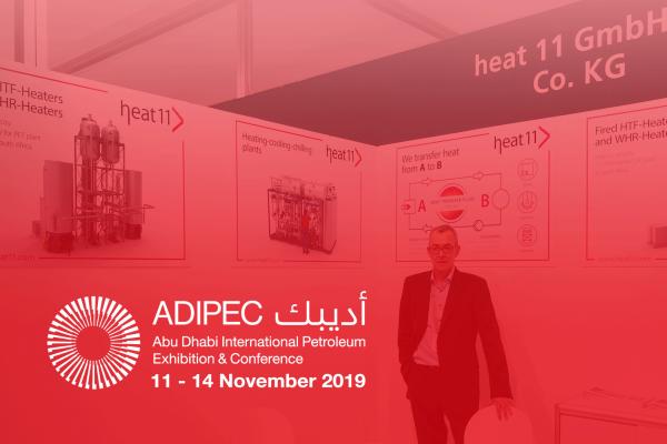 heat 11 auf der ADIPEC 2019 in Abu Dhabi