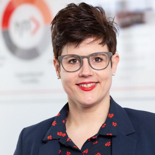 Ramona Remke, zuständig für die Administration Rohrleitungsbau